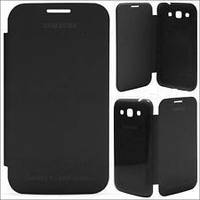 Book leather case for Samsung i9190 Galaxy S4 Mini, black