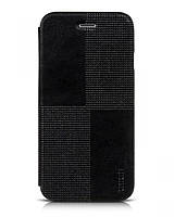 Crystal series fashion leather case for iPhone 6, black (HI-L053) HOCO