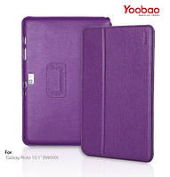 "Yoobao Executive leather case for Samsung N8000 Galaxy Note 10.1"", purple"