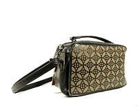 Стильная сумочка- чемоданчик, клатч  Batty 18189-4 черный