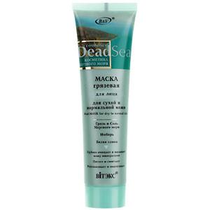 """Витэкс """"Dead Sea Cosmetics"""" Маска грязевая для сухой и нормальной кожи лица 100ml"""