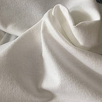 Фланель (байка) белая однотонная