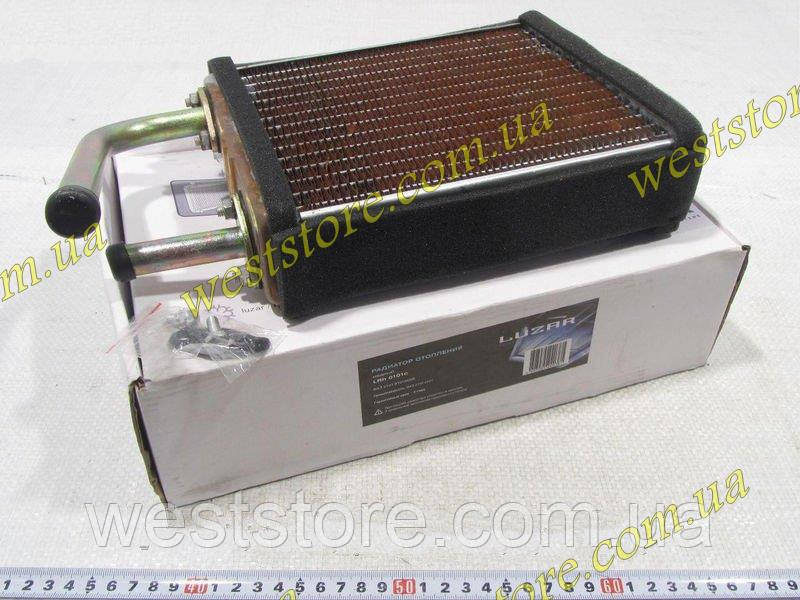 Радиатор отопителя печки медный Ваз 2101 2102 2103 2104 2105 2106 2107 2121 21213 Нива 1111 Ока Лузар Luzar