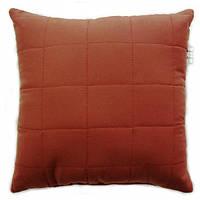 Подушка декоративная Руно бордовая 40x40 см