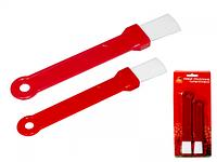 Набор кисточек силиконовых Маруся(15,5см,20см)