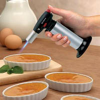 Что такое фломбер или зачем газовая горелка на кухне?