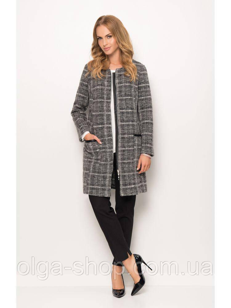 Кардиган женский теплый серый SUNWEAR ZZ525 пальто