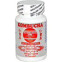 Комбуча (чайный гриб), Kombucha 2000, 30 капсул