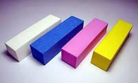 Бафик для ногтей Starlet Professional,баф для ногтей, 100 Grit,разные цвета