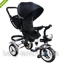 Велосипед дитячий триколісний (аналог Puky Cat S6), чорний