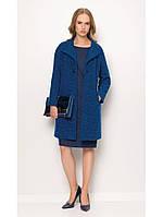 Кардиган женский теплый синий SUNWEAR ZZ529 пальто