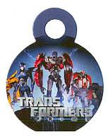 """Медали """"Трансформеры"""". В упак: 10шт. Диаметр: 55мм."""