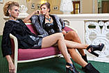 Пиджак жакет из каракульчи черный swakara broadtail jacket  , фото 3
