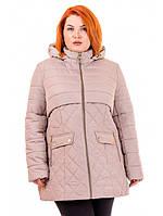 """Демисезонная куртка большого размера""""Лайма"""", фото 1"""