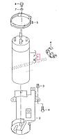Фильтр топливный на Volkswagen Touareg.Код:3012704017H0B