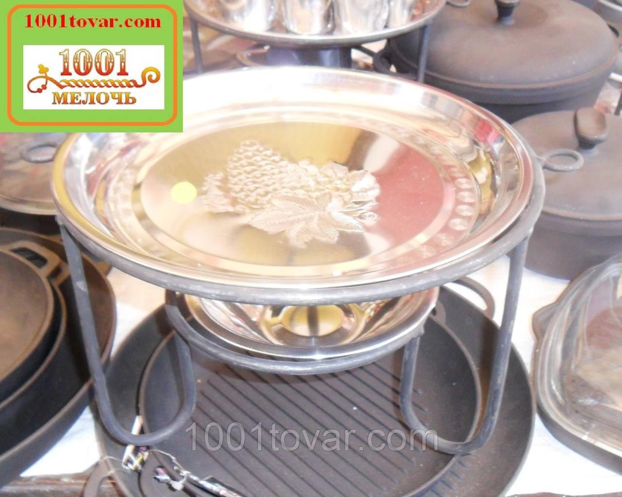 Кованный садж для шашлыка или таганок, 30х20 см.