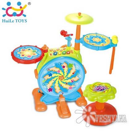 Игрушка Huile Toys Джазовый Барабан 666, фото 2