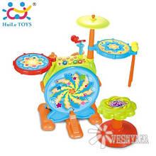 Игрушка Huile Toys Джазовый Барабан 666