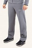 Спортивные брюки с начесом F-50 -  04204A светло-серые