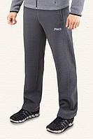 Спортивные брюки с начесом F-50 -  04204B темно-серые