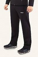 Спортивные брюки с начесом F-50 -  4202A черные