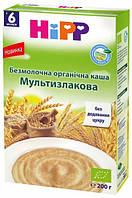 """Безмолочная органическая каша """"Мультизлаковая"""" HIPP, 200г"""