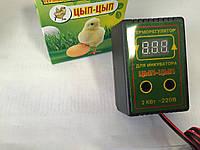 Цифровой терморегулятор для инкубатора ЦЫП-ЦЫП на 2кВТ под розетку
