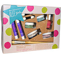 Luna Star Naturals, Klee Girls, Natural Mineral Makeup Kit, Far and Wide, 7 Piece Kit