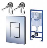 Инсталляционная система Grohe RAPID SL 38772001 3 в 1 для подвесного унитаза