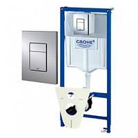 Инсталляция GROHE RAPID SL 38775001 4в1 для унитаза