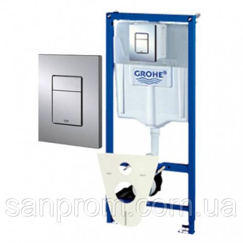 Инсталляция GROHE RAPID SL 38775001 4в1 для унитаза - Доставка сантехники по всей Украине в Харькове