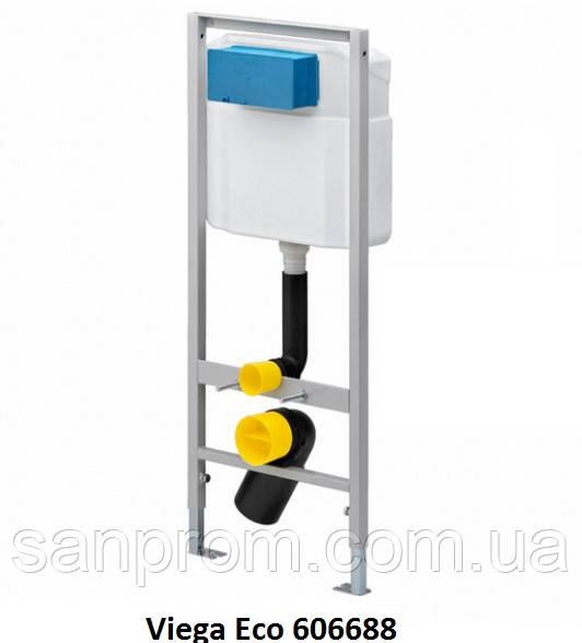 Инсталляция для подвесного унитаза Viega Eco WC 606688 - Доставка сантехники по всей Украине в Харькове
