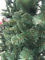 Ёлка европейская зелёная 90 см иголки леска ПВХ Италия, трубчаты пушистый ствол, многоярусная