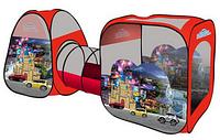 """Детская палатка с туннелем M 2959 """"Машинки"""" HN, КК"""