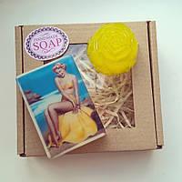 Мыло ручной работы в подарочном наборе Банановый остров