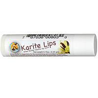 Mode De Vie, Karite-Lips, Бальзам для губ с маслом ши и ванилью, 0.15 унций (4.5 г)