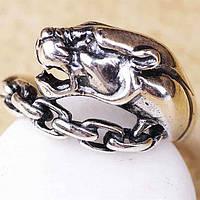 """Женское серебряное кольцо """"гепард"""""""