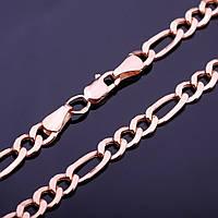 Золотая цепочка плетение Фигаро
