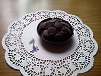 Шоколадные чипсы (монеты) Черные 1 кг.