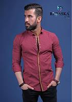 Рубашка мужская с длинным рукавом.  RSK-3077, фото 1
