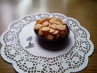 Шоколадные чипсы (монеты) Оранжевые 1 кг.