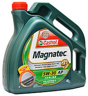 Моторное масло 5W30 CASTROL (4л) MAGNATEC АР
