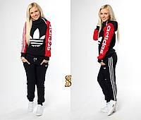 Спортивный костюм «Adidas» на флисе 3 цвета