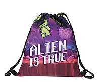 Сумка мешок спортивная на затяжках Alien is true