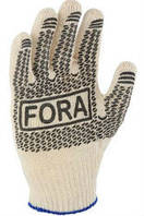 Перчатки Doloni Фора белые 10 пар/уп, фото 1
