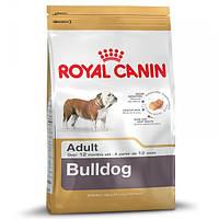 Корм для собак (Роял Канін) ROYAL CANIN Bulldog 12 кг - для дорослих собак породи Бульдог