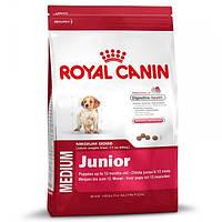 Корм для собак (Роял Канин) ROYAL CANIN Medium Junior 15 кг - для щенков средних пород