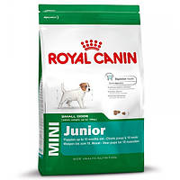 Корм для собак (Роял Канин) ROYAL CANIN Mini Junior 8 кг - для щенков мелких пород