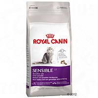 Корм для кошек (Роял Канин) ROYAL CANIN Sensible 10 кг - для взрослых кошек с чувствительным пищеварением