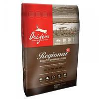 Корм для собак ORIJEN REGIONAL RED 11.4 кг с красным мясом животных